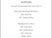 Good Tidings Supply List