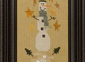 Snowman on a Hill