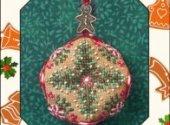 Tiny Christmas Biscornu
