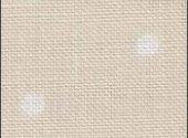 Neutral White Polka Dot Linen 32 Ct