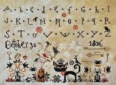 Barbara Ana Designs October 31 Halloween Cross Stitch Pattern