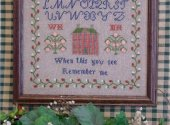 Remember Me - Cross Stitch Sampler