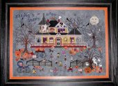 Praiseworthy Stitches Seedy Pumpkin Cottage