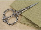 Victorian Embroidery Scissors Silver
