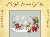 Sleigh Snow Globe