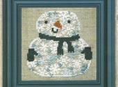 Snowman Of Snowflakes