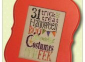 Spooky Typography Linen Kit