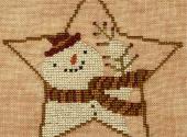 Star Shaped Snowman