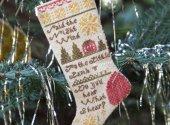 Do You Hear What I Hear Christmas Stocking Ornament #1